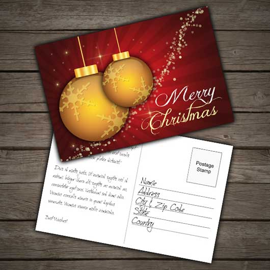 Create a Print Ready Festive Postcard in Photoshop