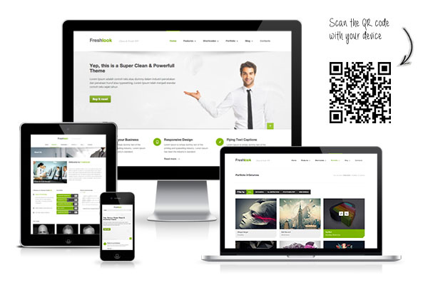 Freshlook – Responsive Multi-Purpose WP Theme