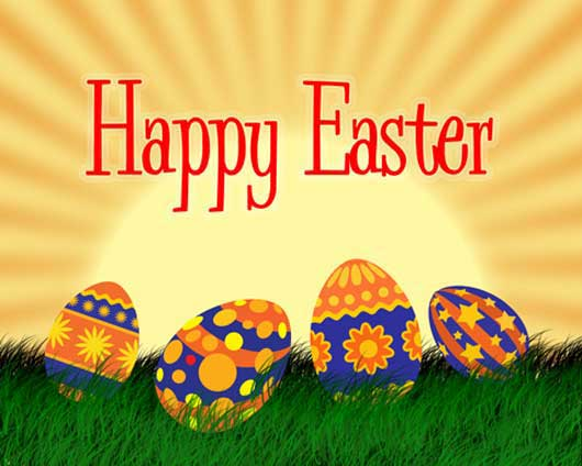 Happy Easter Postcard (Part 1)
