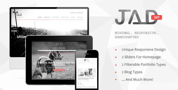 Jad - Creative WordPress Theme