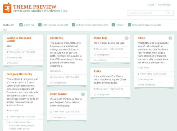 Sampression Lite Free WordPress Responsive Theme