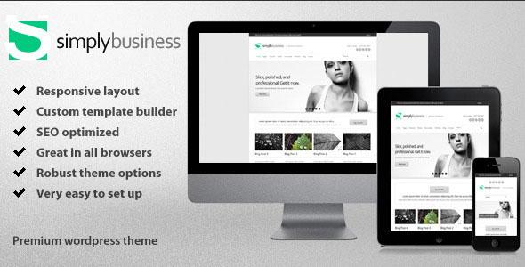 Simply Business - Responsive Multi-Purpose Theme