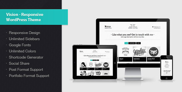 Vision - Responsive WordPress Theme