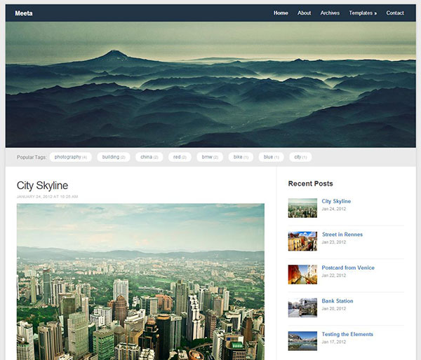 Meeta Free Responsive WordPress Theme