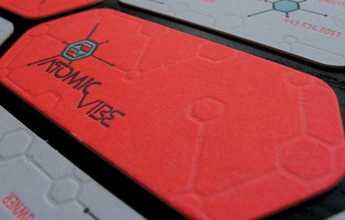 Business Card for: ATOMICvibe