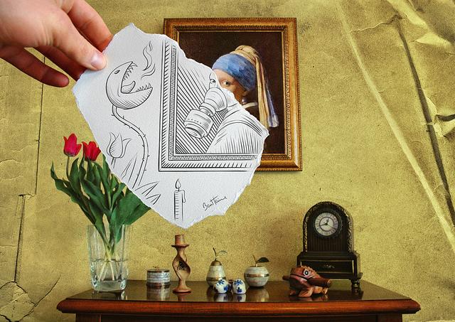 Pencil Vs Camera   Amazing art by Belgian artist Ben Heine