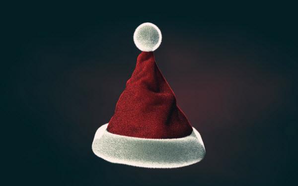 Christmas Hat Wallpaper