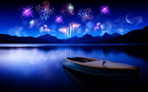 Fireworks Night Wallpaper