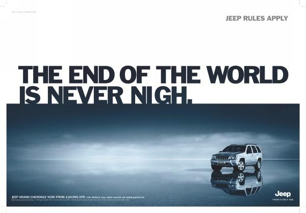 """Collection of Creative 2012 """"End of The World"""" Advertisement Designs"""