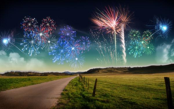 new year fireworks