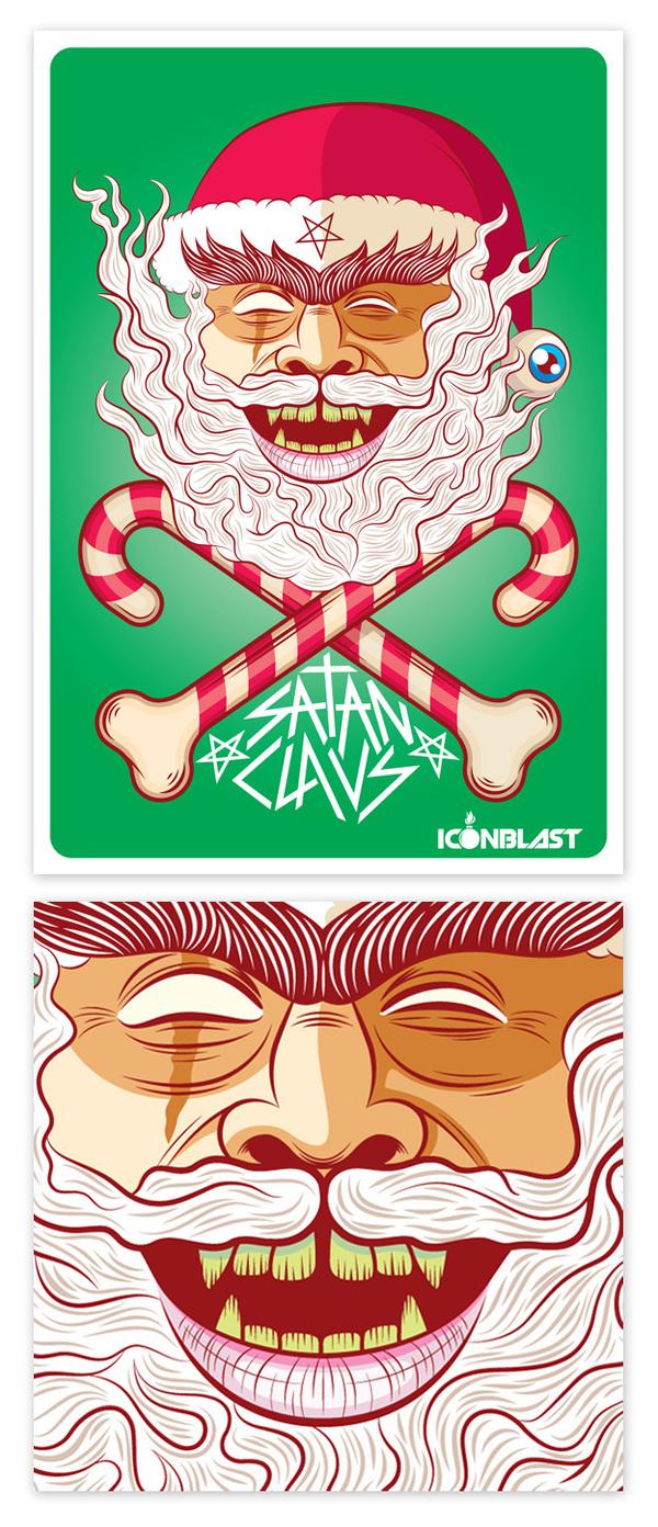 32 Creative Santa Claus Illustrations