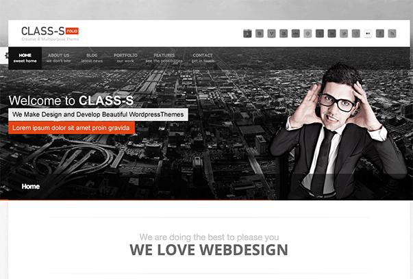 Class-S-WordPress-Theme