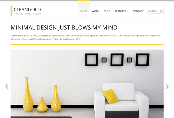 CleanGold-WordPress-Theme