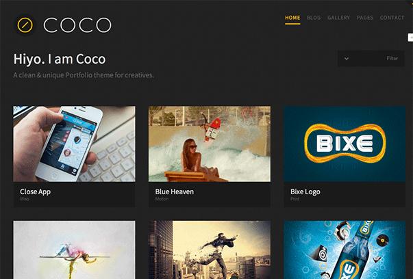 Coco-WordPress-Theme