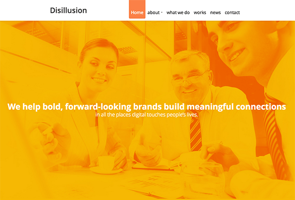 Disillusion-WordPress-Theme