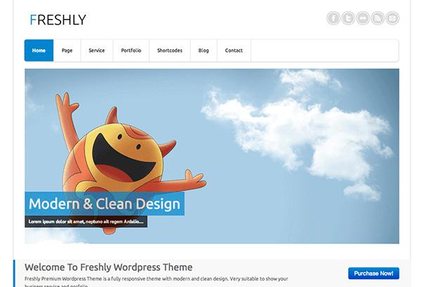 Freshly-WordPress-Theme