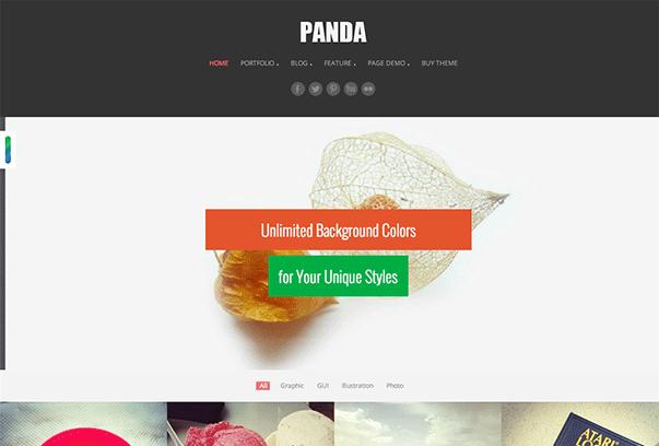 Panda-WordPress-Theme