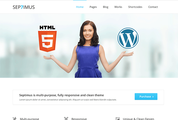 Sep7imus-WordPress-Theme