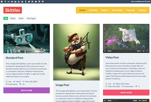 Skittles-WordPress-Theme