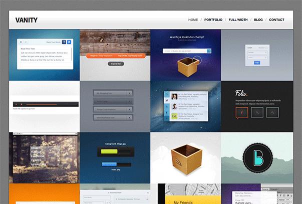 Vanity-WordPress-Theme