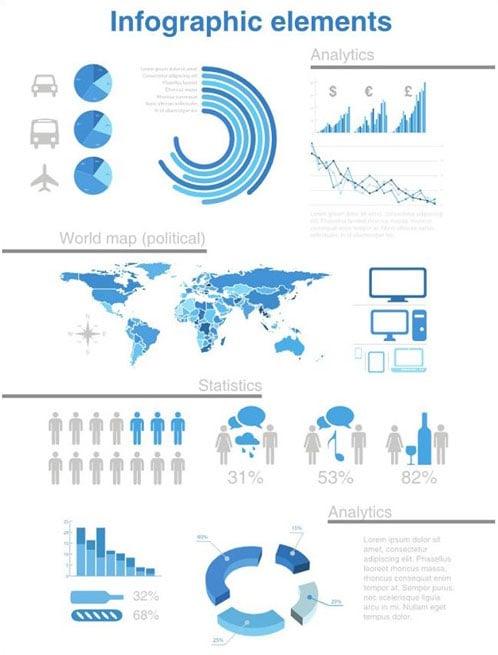Free-Vector-Infographics-Design-Elements