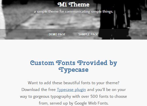 Mi-Clean-Minimal-WordPress-Theme
