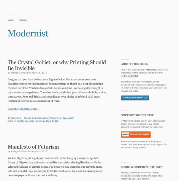 Modernist-Clean-Minimal-WordPress-Theme