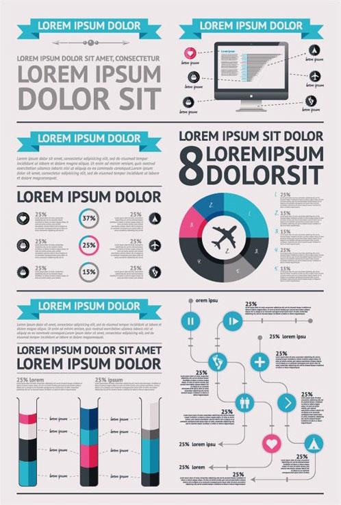 Vector-Infographics-Pie-Chart