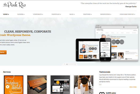 Pink Rio - Responsive Multi-Purpose Theme