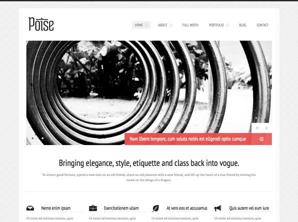 Poise - WordPress