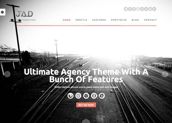 Jad - Creative WordPress Theme