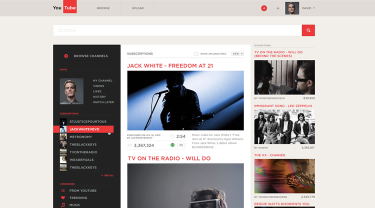 - Web Redesign Concept