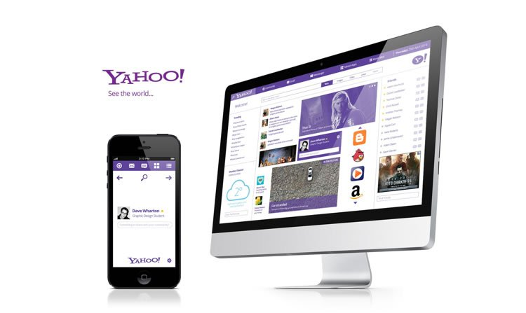 Yahoo! - Web Redesign Concept