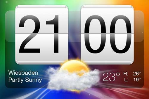 HTC Sense Clock 2.0 (PSD)
