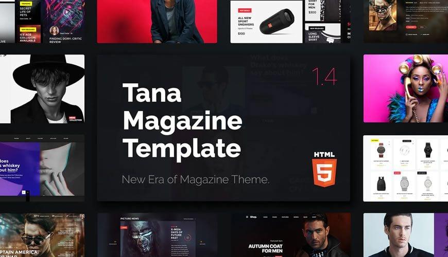 Magazine Tana Template