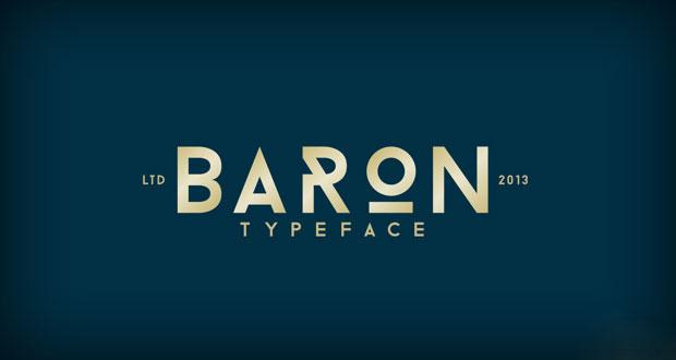 baron-free-font