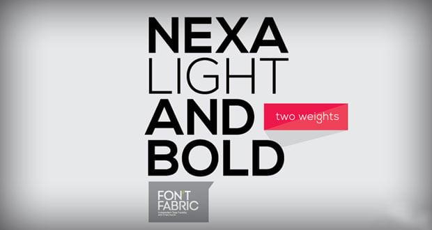 nexa-free-font