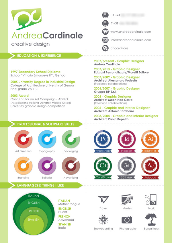 infographic r 233 sum 233 by luis bola 241 os
