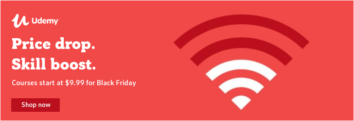 Udemy Black Friday Deals