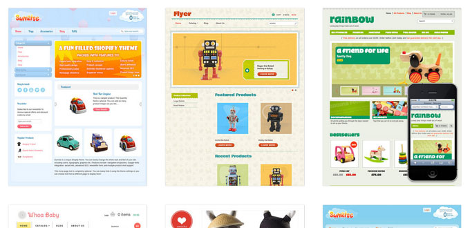toys-website-templates