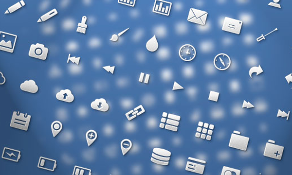 Codrops freebie icon set for web applications glyphs