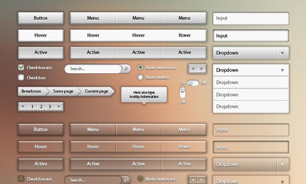 Freebie OXP download website UI pack layouts
