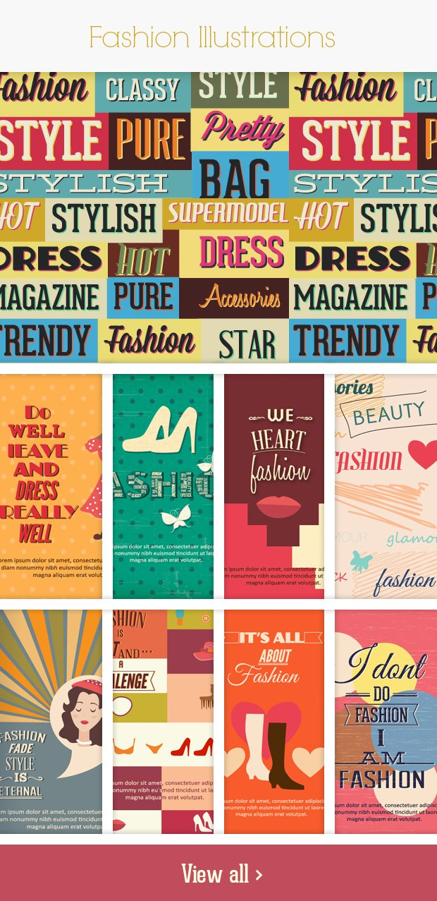 fashion small Deal of the Week: 600+ Top Quality Vector Illustrations – Only $49