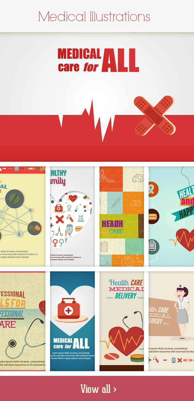 medical small Deal of the Week: 600+ Top Quality Vector Illustrations – Only $49