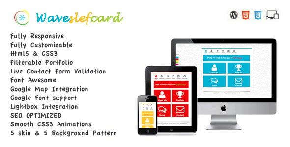 waveselfcard-responsive-vcard