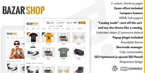 Bazar Shop WordPress Theme