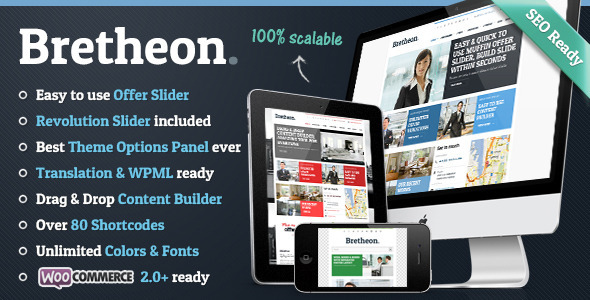 Bretheon WordPress Theme
