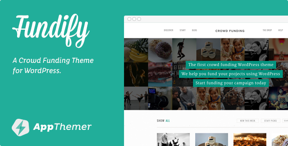Fundify WordPress Theme