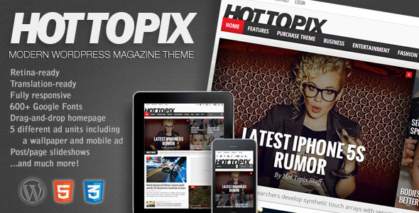 Hot Topix WordPress Theme