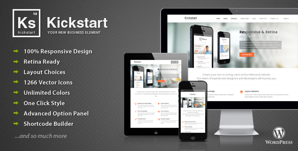 Kickstart WordPress Theme